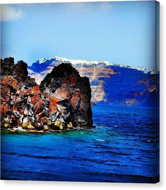 Lava Canvas Print - Lava Land by Carlos Macia Perez