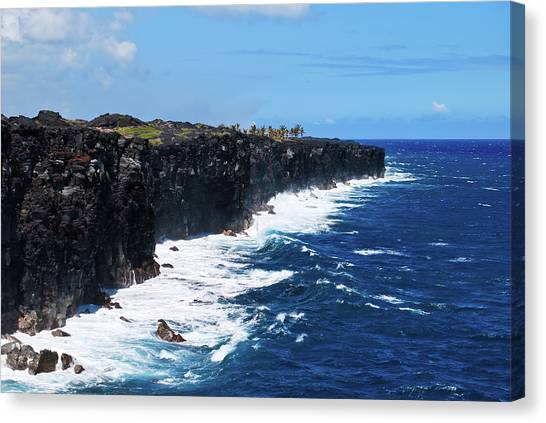 Lava Shore Canvas Print