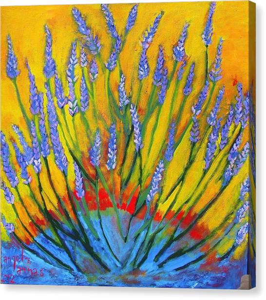 Lavender Afternoon Canvas Print