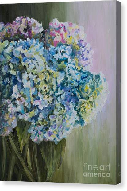 Lavender Glow Canvas Print