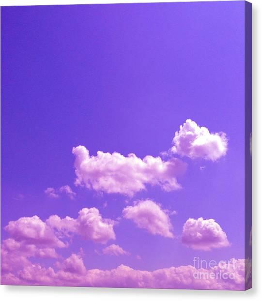 Lavender Skies Canvas Print
