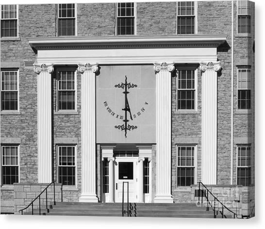 Appleton Canvas Print - Lawrence University Main Hall Sundial by University Icons