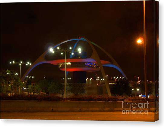 Lax Encounter Restaurant Canvas Print