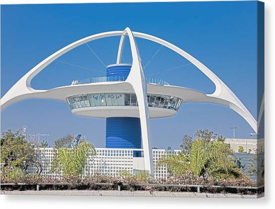 Lax Spaceship Canvas Print