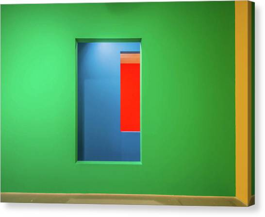 Colour Canvas Print - Layers Of Colour by Joshua Raif