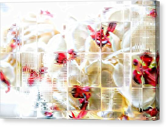 Rayonism Canvas Print - Layers Of Light by Bruce Willis