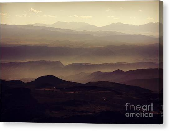 Layers Of Time Canvas Print