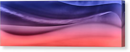 Layerscape In Color Canvas Print