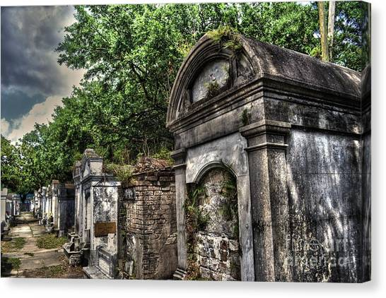 Layfayette Cemetery New Orleans Canvas Print