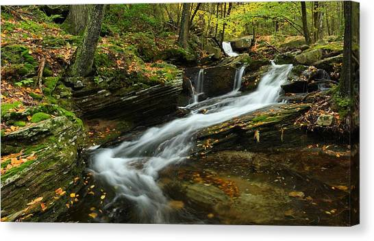 Lazy Cascade Canvas Print