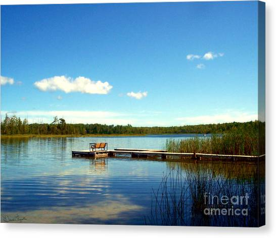 Lazy Summer Day Canvas Print