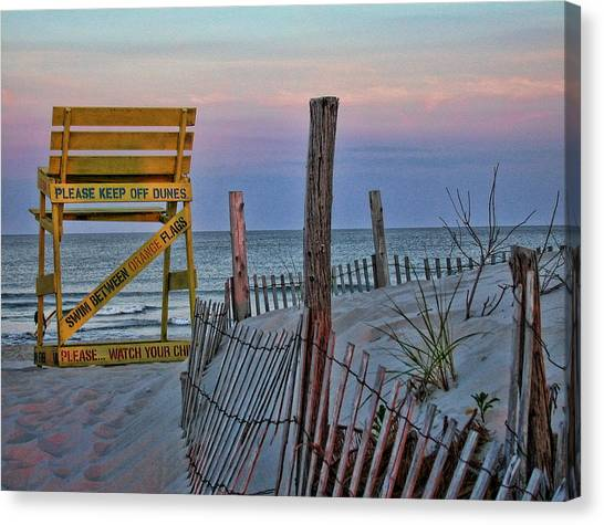 Canvas Print featuring the photograph LBI by David Armstrong