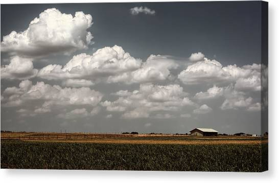 Lyndon Johnson Canvas Print - Lbj Ranch In Texas by Joan Carroll