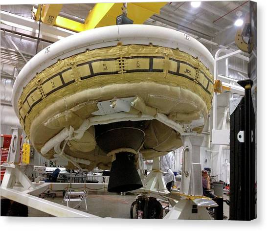 Inflatable Canvas Print - Ldsd Test Vehicle Assembly by Nasa