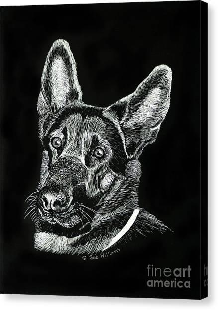 Le Baron Vom Schutzstaffel Canvas Print