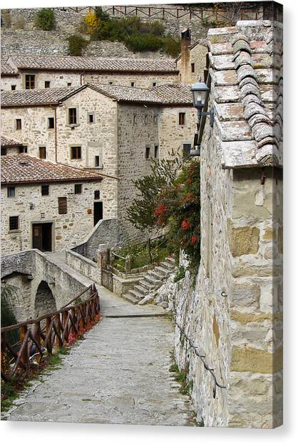 Le Celle Outside Cortona Italy Canvas Print