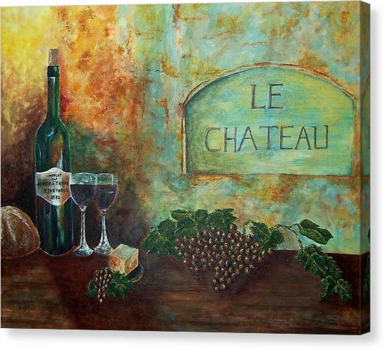 Le Chateau Canvas Print