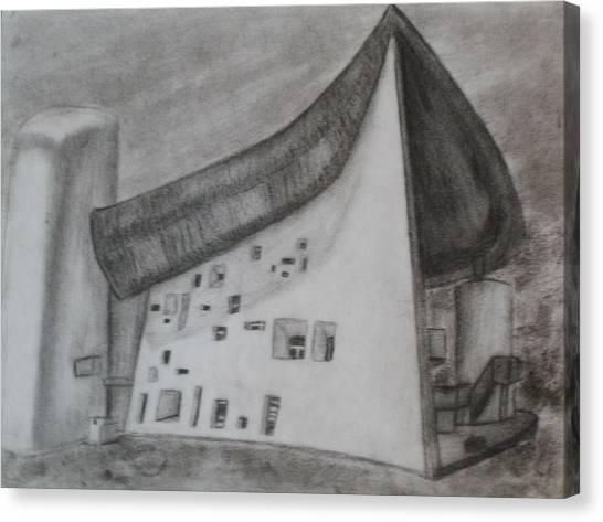 Le Corbusier Canvas Print