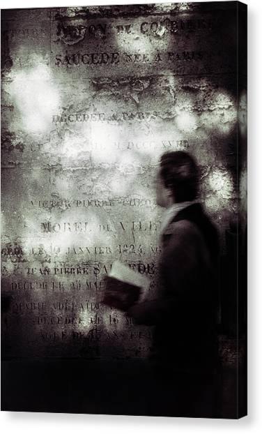 Academic Art Canvas Print - Le Lecteur by Eric Drigny