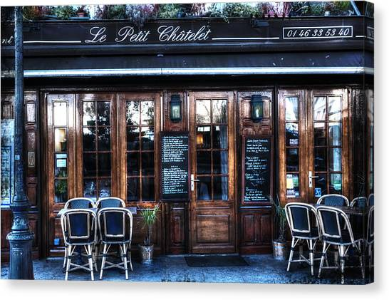 Le Petit Chatelet Paris France Canvas Print