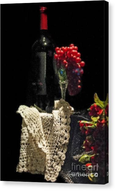 Le Vin Canvas Print