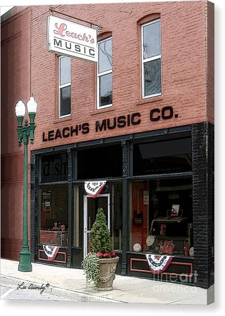 Leach's Music Canvas Print
