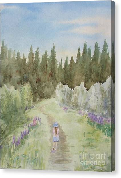 Leading The Way Canvas Print