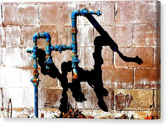 Leaky Faucet II Canvas Print