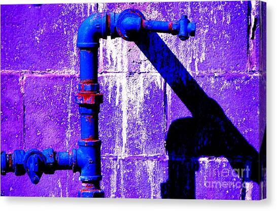 Leaky Faucet IIi Canvas Print