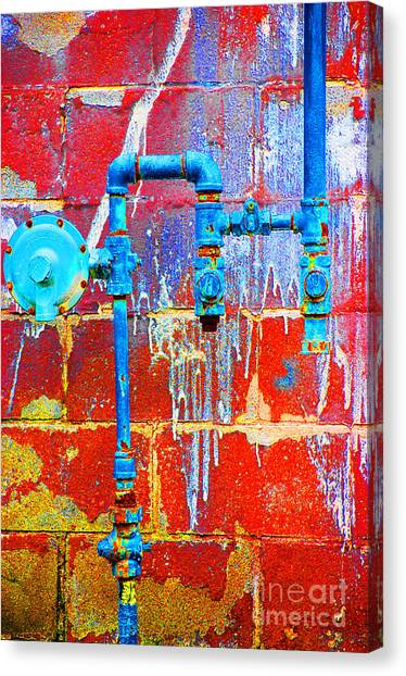 Leaky Faucet Canvas Print