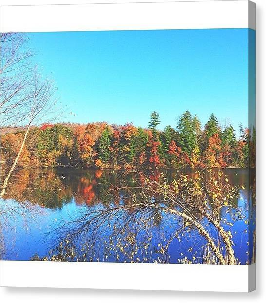Appalachian Mountains Canvas Print - Your Own Reflections by Simon Nauert