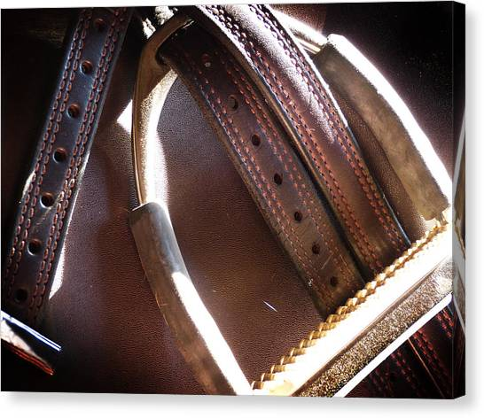 Leather And Iron Canvas Print