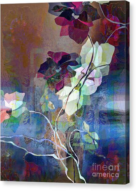 Leaves And Branches Canvas Print