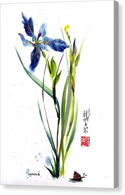 Leaving Zen Canvas Print