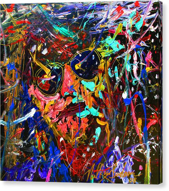 Lebowski Love Canvas Print