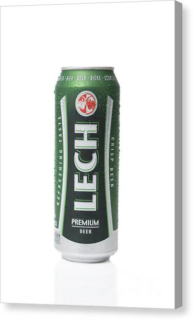 Lager Canvas Print - Lech Lager by Amanda Elwell