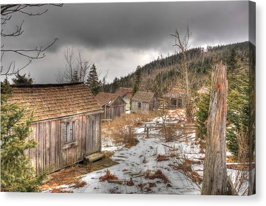 Leconte Lodge, Great Smoky Mountains National Park Canvas Print