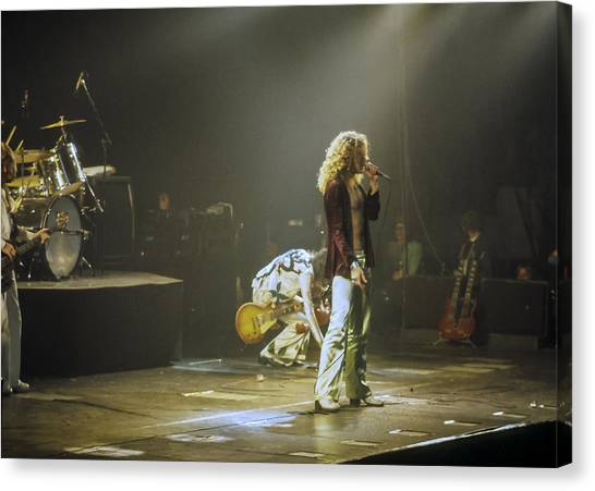 Jimmy Page Canvas Print - Led Zeppelin 2 by Joe  Gliozzo