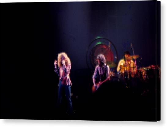 Led Zeppelin Artwork Canvas Print - Led Zeppelin  by Kevin Cable
