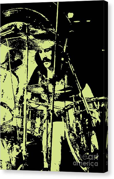 Percussion Instruments Canvas Print - Led Zeppelin No.05 by Geek N Rock