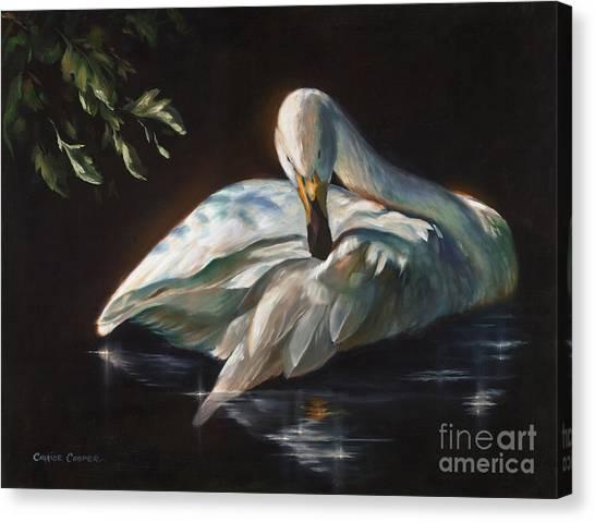 Leda's Swan Canvas Print