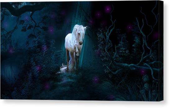 Left Alone Canvas Print