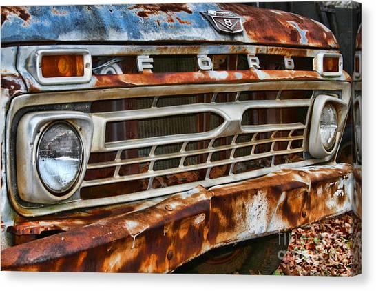 Left To Rust By Diana Sainz Canvas Print