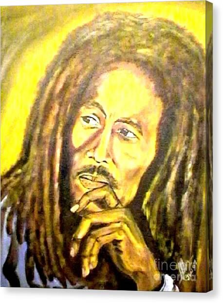 Bob Marley Portrait Canvas Prints (Page #6 of 12) | Fine Art America