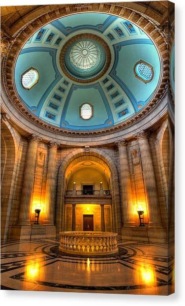 Manitoba Canvas Print - Legislative Building by Bryan Scott