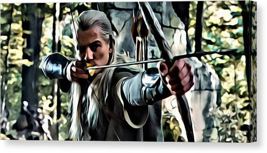 Orlando Bloom Canvas Print - Legolas by Florian Rodarte