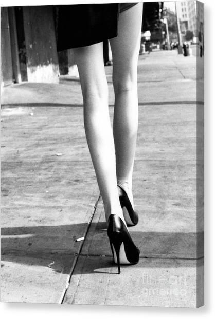 Legs New York Canvas Print