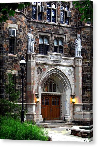 Lehigh University Bethlehem Packard Laboratory Canvas Print
