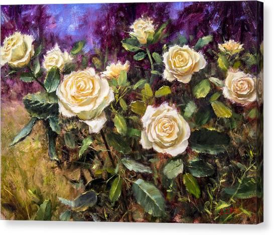 Lemon Custard Canvas Print by Bill Inman