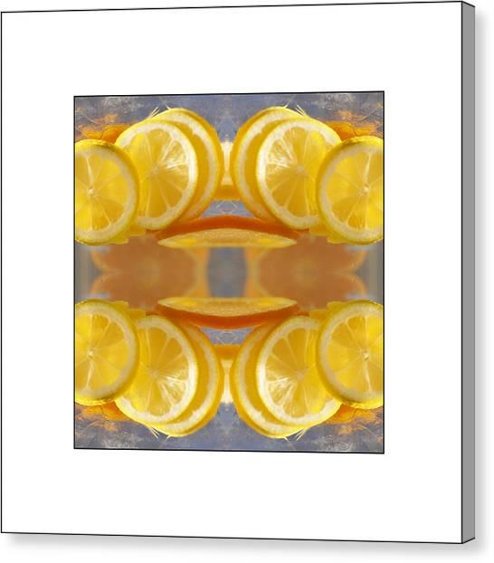 Lemon Drop Canvas Print by Don Powers